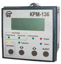 КPM-136 Контроллер реактивной мощности 3-фазный 6-ступенчатый