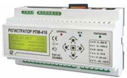 16-и канальный регистратор электрических процессов микропроцессорный РПМ-416