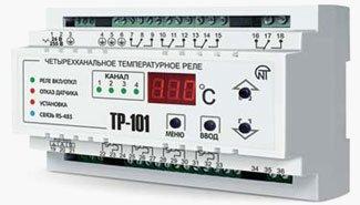 4-канальный измеритель-регулятор температуры ТР-101