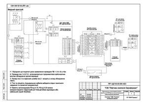 Схема підключення до станції керування ЕВРОФОРМАТ