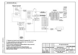 Схема підключення до релейної станції керування